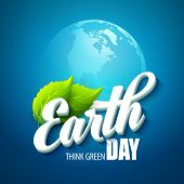 picture of planet earth  - Earth Day - JPG