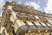 pic of bordeaux  - Stylish old building in the city of Bordeaux France - JPG