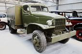 Vintage Military Truck poster