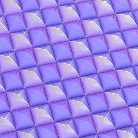picture of pyramid shape  - Abstract background made of surface covered with square shaped pyramid blocks - JPG