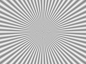stock photo of psychodelic  - silver psychodelic background with optical illusions in silver - JPG