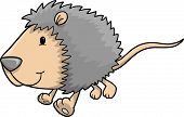image of possum  - Cute Possum Vector Illustration - JPG