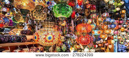 Beautiful Lamps In Grand Bazaar