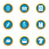 Dirty Icons Set. Flat Set Of 9 Dirty Icons For Web Isolated On White Background poster