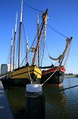 picture of flatboat  - Two flat - JPG