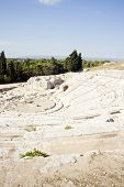 picture of sicily  - Greek theater Neapolis of Syracuse in Sicily  - JPG