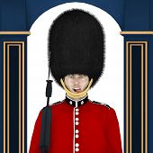 foto of beefeater  - British Guard  - JPG