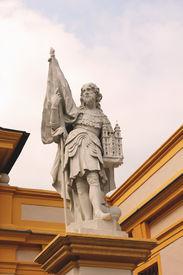 stock photo of leopold  - Statue of Leopold II in Melk Abbey - JPG