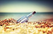 pic of sos  - Message in bottle - JPG