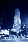 Night Scenes Of Beijing Financial Center District