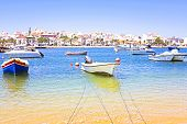 picture of lagos  - View on Lagos in Portugal - JPG