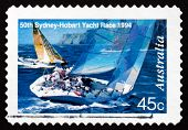 Postage Stamp Australia 1994 Two Yachts Abeam
