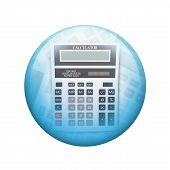 stock photo of spherical  - Big calculator - JPG