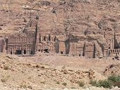 pic of caravan  - Petra, the ancient caravan site in Jordan