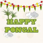 stock photo of pongal  - South Indian harvesting festival - JPG