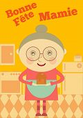 picture of grandma  - Grandmother Day France - JPG