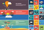 stock photo of summer beach  - Icons for web design - JPG