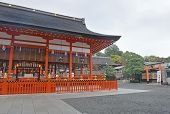 picture of dory  - Richly colored Fushimi Inari Taisha Shrine - JPG
