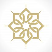 foto of arabic  - geometric arabic pattern - JPG
