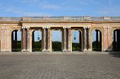picture of versaille  - Le Grand Trianon in the park of Versailles Palace - JPG