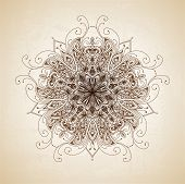 picture of decorative  - Vintage vector pattern - JPG