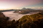 pic of bromo  - Bromo volcanoTengger Semeru National Park East Java Indonesia - JPG