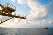 foto of offshoring  - Offshore oil and gas production and exploration business - JPG