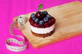 ������, ������: cake and centimeter inch beauty health style pink ideal food