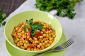 pic of chickpea  - Chickpea stew with vegetables - JPG