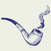 picture of tobacco-pipe  - Tobacco pipe - JPG
