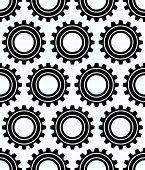 stock photo of rework  - Various gear wheel rack wheel vector graphics - JPG