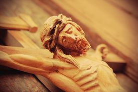 picture of crucifixion  - the crucifixion of Jesus Christ as a symbol of God - JPG