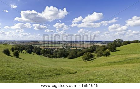 poster of Warwickshire Countryside