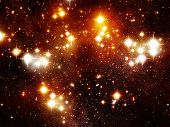 stock photo of space stars  - Deep space stars - JPG