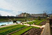 picture of kensington  - The Kensington Palace buildings in London UK - JPG