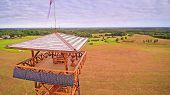 6734_the_watch_tower_with_the_solar_cells_on_it.jpg poster