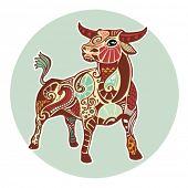 picture of taurus  - Zodiac signs  - JPG