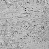 Bright Grey Grunge Plastered Wall Stucco Texture, Horizontal Detailed Natural Scratch Grungy Gray Co poster