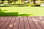 Page Decking Front Lawn, Landscape Formal, Front Yard Is Beautifully Designed Garden, Garden Design  poster