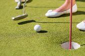 pic of miniature golf  - People - JPG