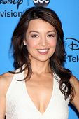LOS ANGELES - AUG 4:  Ming-Na Wen arrives at the ABC Summer 2013 TCA Party at the Beverly Hilton Hot