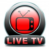 TV live on air television live stream broadcast