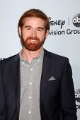 LOS ANGELES - JAN 17:  Andrew Santino at the Disney-ABC Television Group 2014 Winter Press Tour Part