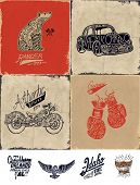picture of carburetor  - sketch collection with wording - JPG