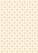 pic of eyeleteer  - Vector swatch eyelet fabric wallpaper with easy to change pink colored background that matches Valentine borders - JPG