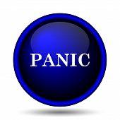 image of panic  - Panic icon - JPG