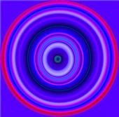 pic of hypnotizing  - Nice Hypnotic multicolor and blur circles pattern - JPG