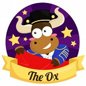 picture of oxen  - The Ox for the ox in chinese zodiac - JPG