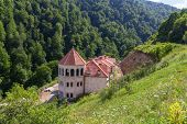 picture of armenia  - Photo of Haghartsin Monastery in Armenia  surrounded with forest - JPG