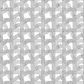 pic of terrazzo  - Seamless patterned mask grid as a square frame - JPG
